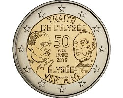 2€ France 2013 - Treaty of Elíseo