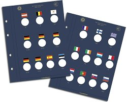 VISTA sheets for 2€ coins