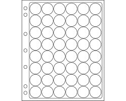 ENCAP 24/25 sheets for 22-23mm coins