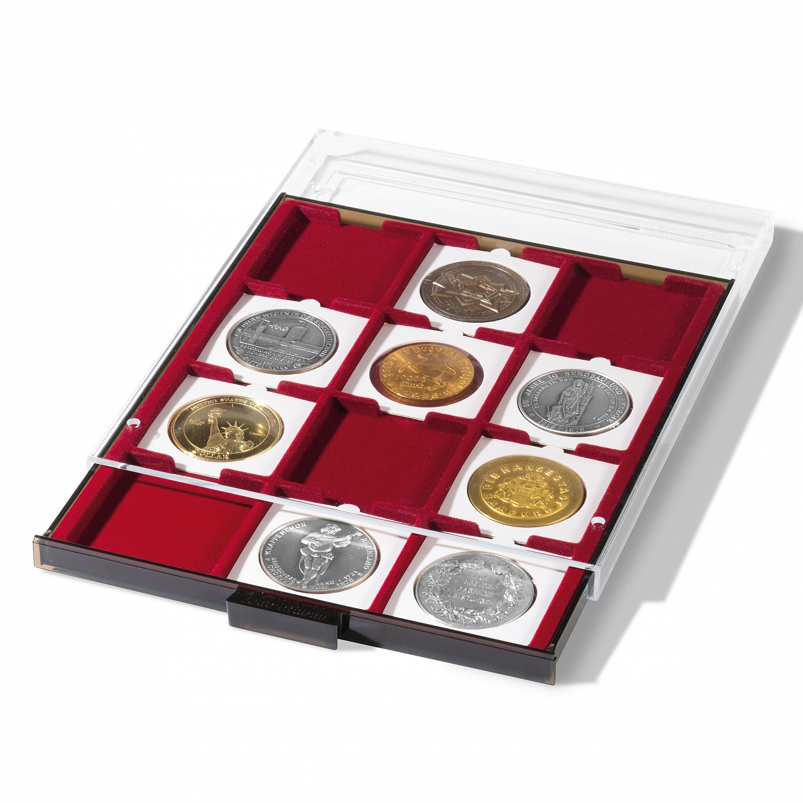 N24 Coin tray for QUADRUM XL capsules