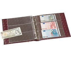 NUMIS classic coin album with banknote sheets