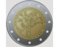 Andorra 2€ 2018 - Human rights