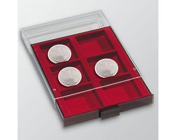 Coin box with 6 square compartments   <font color=red>NO STOCK</font>