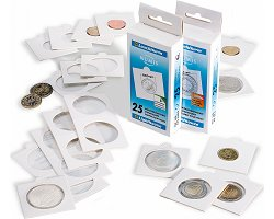 "Selfadhesive ""Extra"" coin holder"