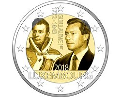 Luxembourg 2€ 2018  - Duque Guillermo I Death