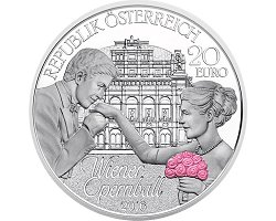 Austria 20€ 2016 Proof - Vienna Opera Ball