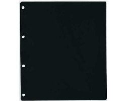 Black sheet (FOLIO)